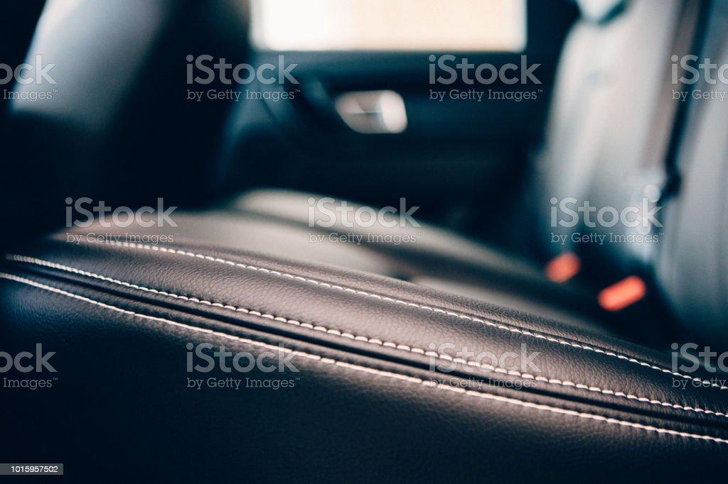 Car Seat Leder Polsterung detail – Foto
