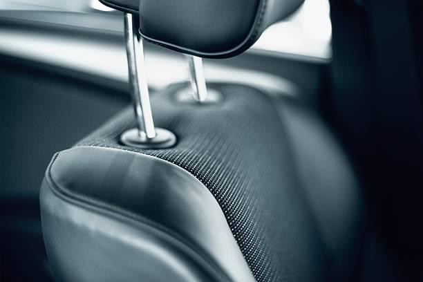 car seat - kopfstütze stock-fotos und bilder
