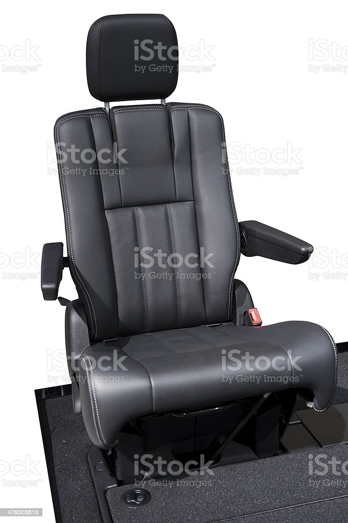 Car seat royalty-free stock photo