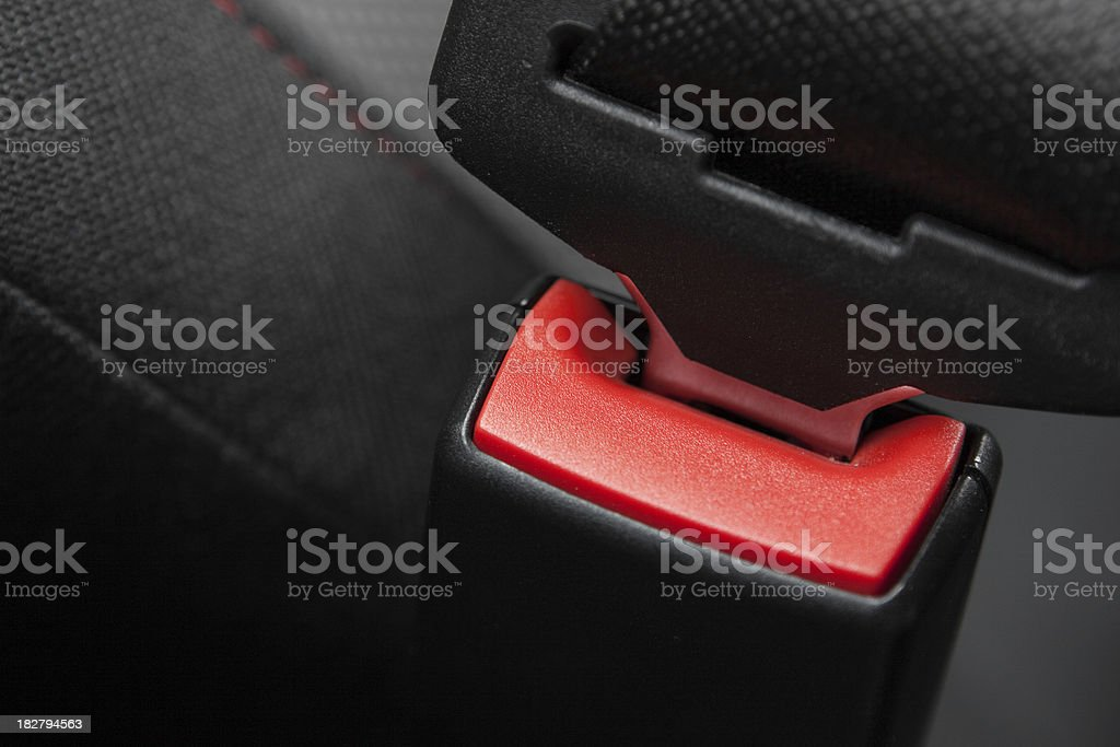 Car Seatbelt stock photo