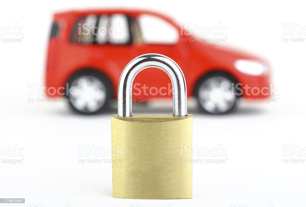 Car Security royalty-free stock photo