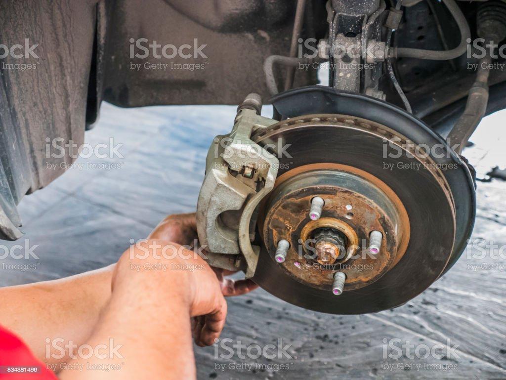 Car service and maintenance stock photo