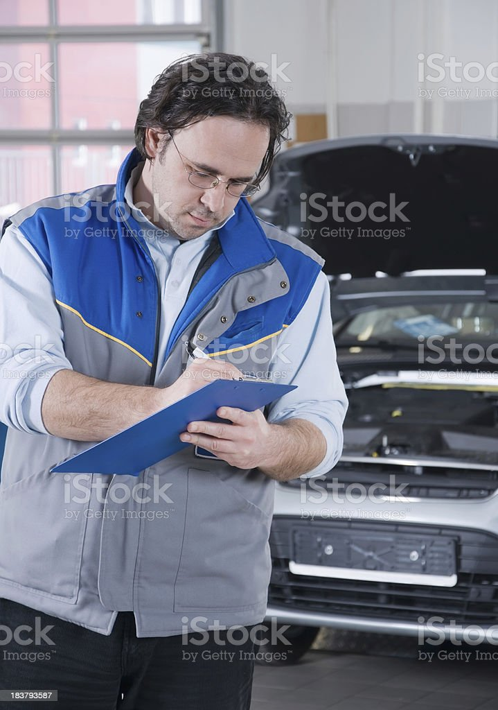 Car service. royalty-free stock photo