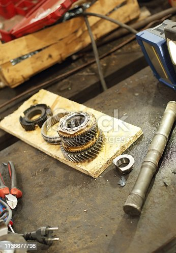 522394158 istock photo Car service procedure 1136677798
