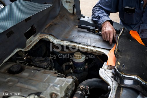 522394158 istock photo Car service procedure 1141821698