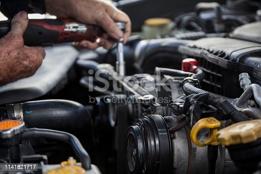 522394158 istock photo Car service procedure 1141821717