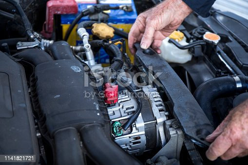 522394158 istock photo Car service procedure 1141821721