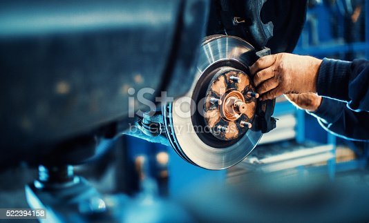 istock Car service procedure. 522394158
