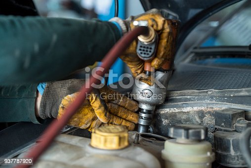 522394158 istock photo Car service procedure. 937787920
