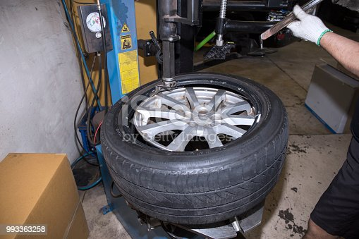 522394158istockphoto Car service procedure 993363258
