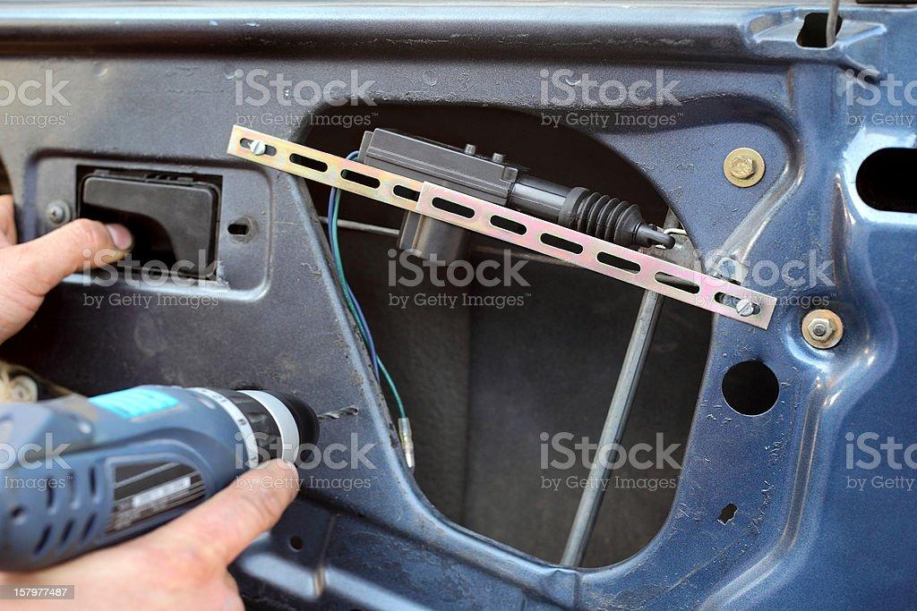 Car servicing royalty-free stock photo