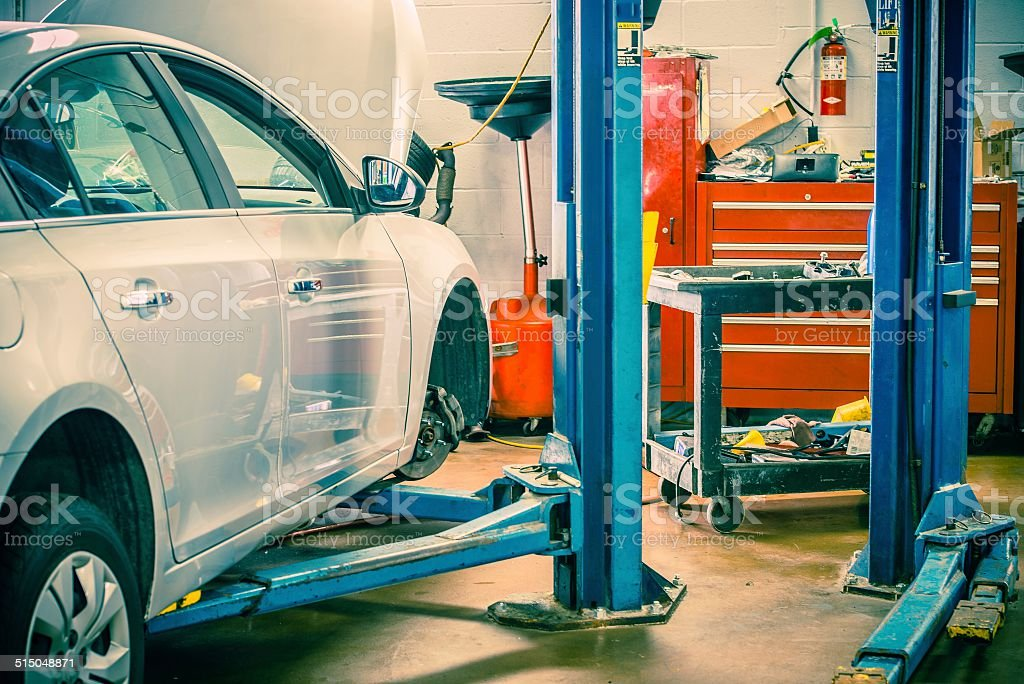 Car Servicing Station stock photo
