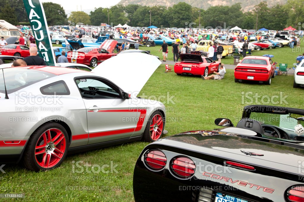 Car Show royalty-free stock photo