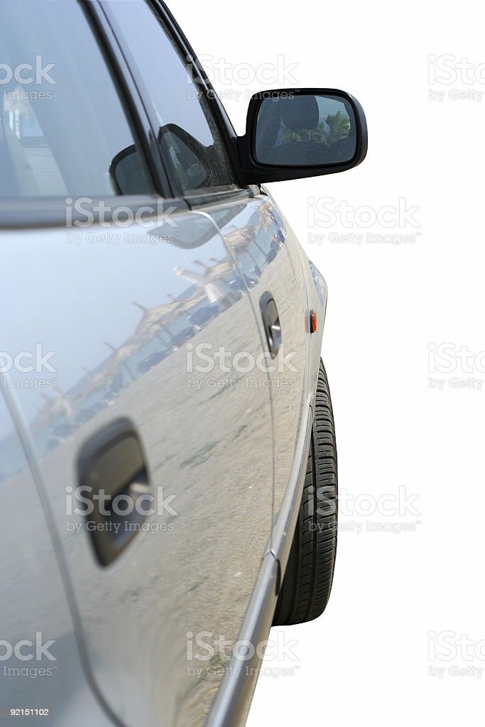 Car Side View stock photo