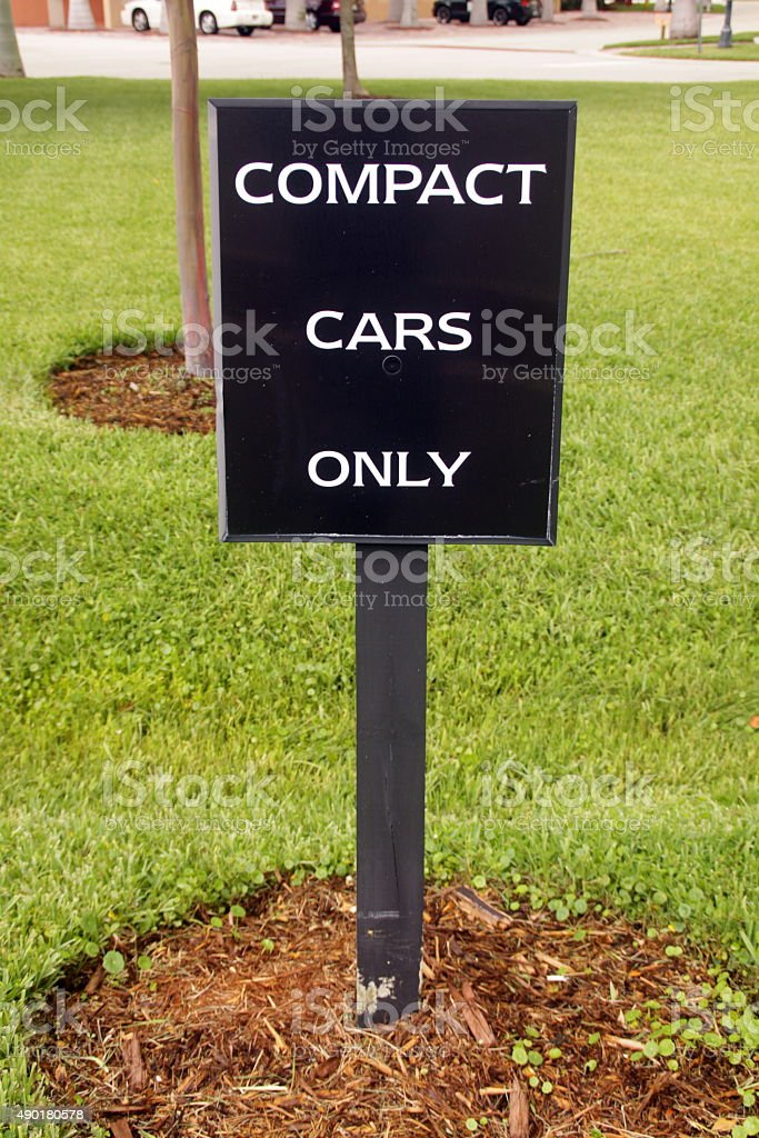 car sign stock photo