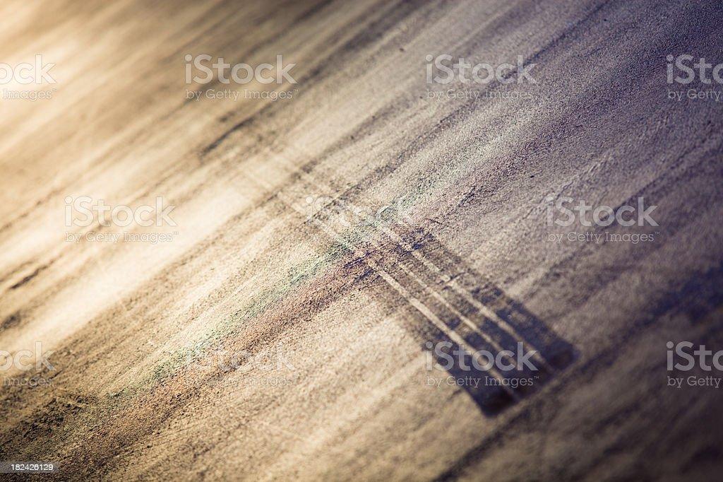 Auto Skid Mark abstrakte – Foto