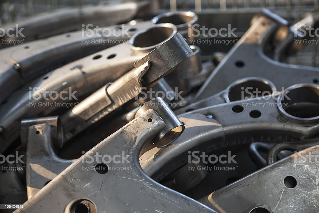 car spare parts royalty-free stock photo