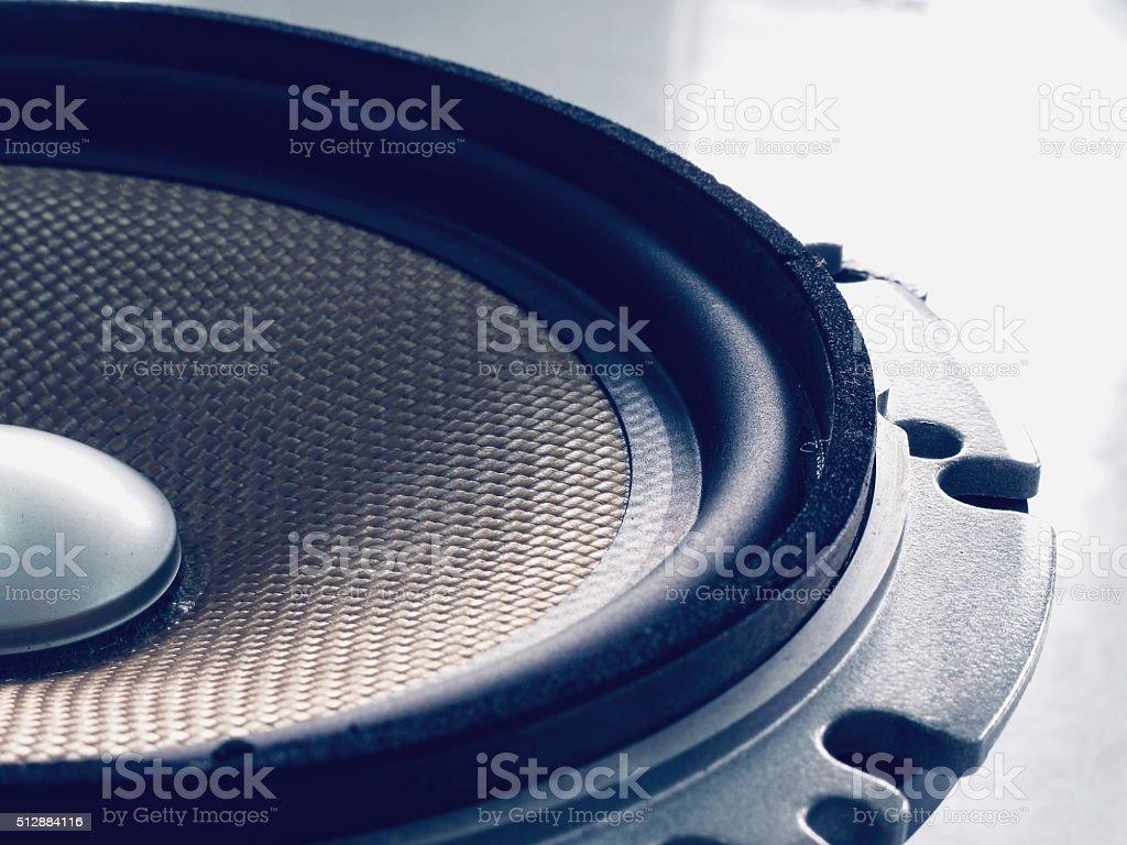 Car speaker audio stock photo