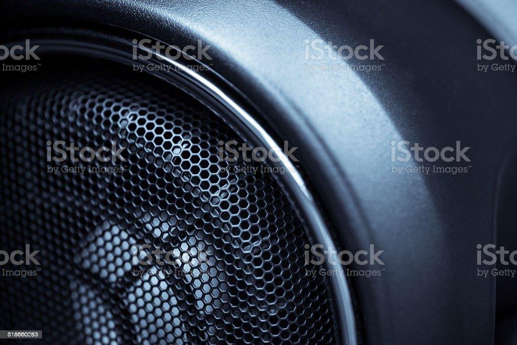 Car speaker stock photo