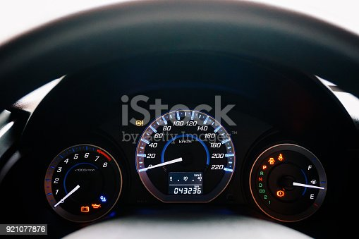 Car Speed Meter Dashboard Speedometer Panel Stock Photo More