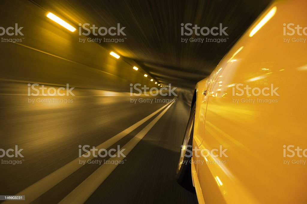 Car speed royalty-free stock photo