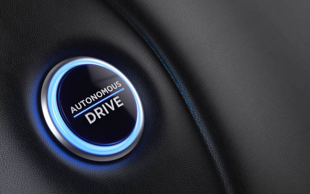 car start button on dashboard - self driving car stock photos and pictures