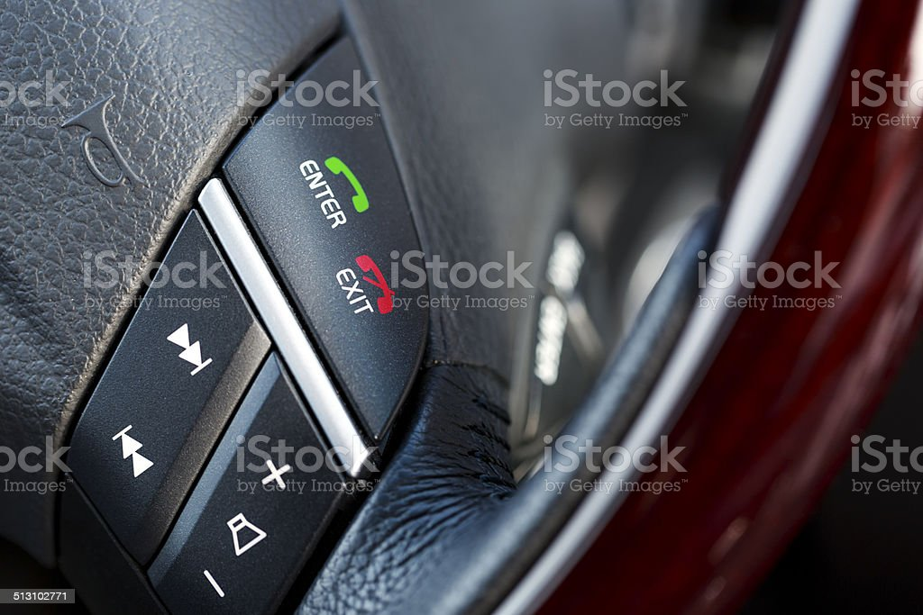 Car Stereo and Hands Free System stock photo