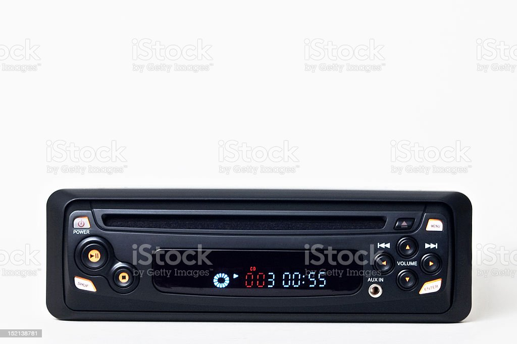 car stereo, stock photo