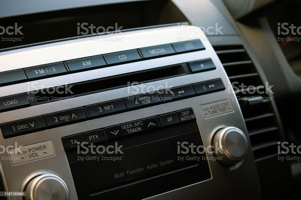 Car stereo unit - Royalty-free Audio Equipment Stock Photo