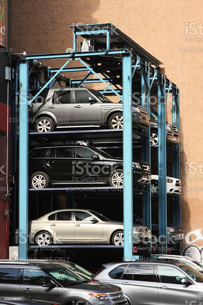 & Car Storage Hydraulic Rack Stock Photo u0026 More Pictures of Car | iStock