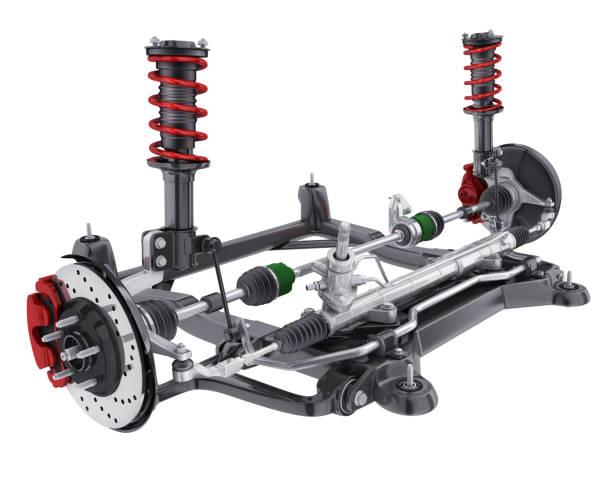 Auto Fahrwerk und Bremse und Lenkung – Foto
