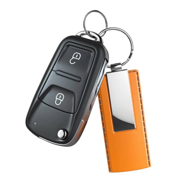 Switchblade Autoschlüssel mit Anhänger – Foto