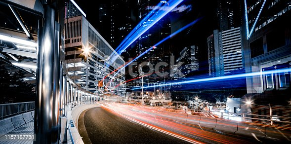 City, Cityscape, City Street, Highway, Traffic