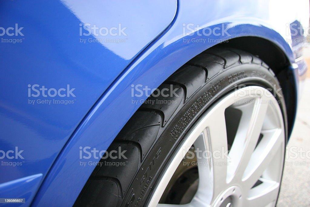 Car tire royalty-free stock photo