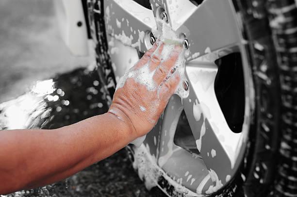 car tire wash - surf garage bildbanksfoton och bilder