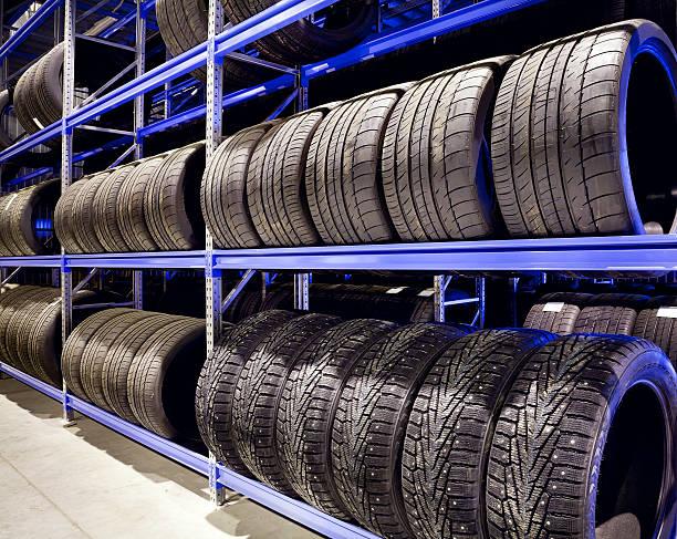 Auto Reifen, Nahaufnahme – Foto