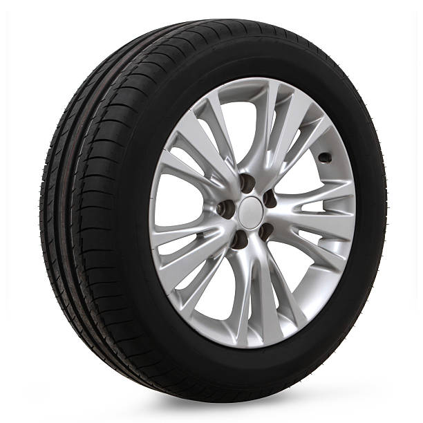 car tires on a white background – Foto