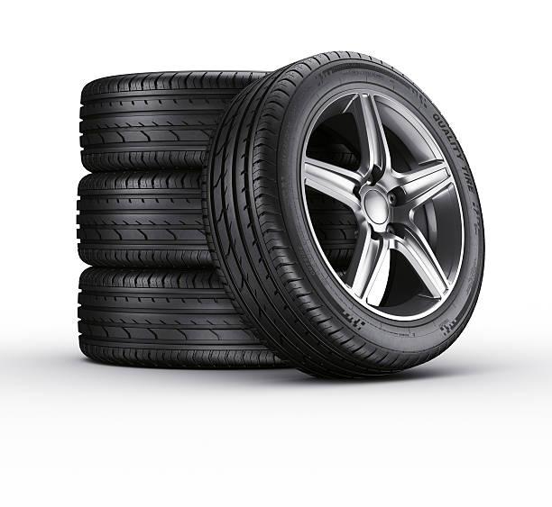 Auto Reifen. – Foto