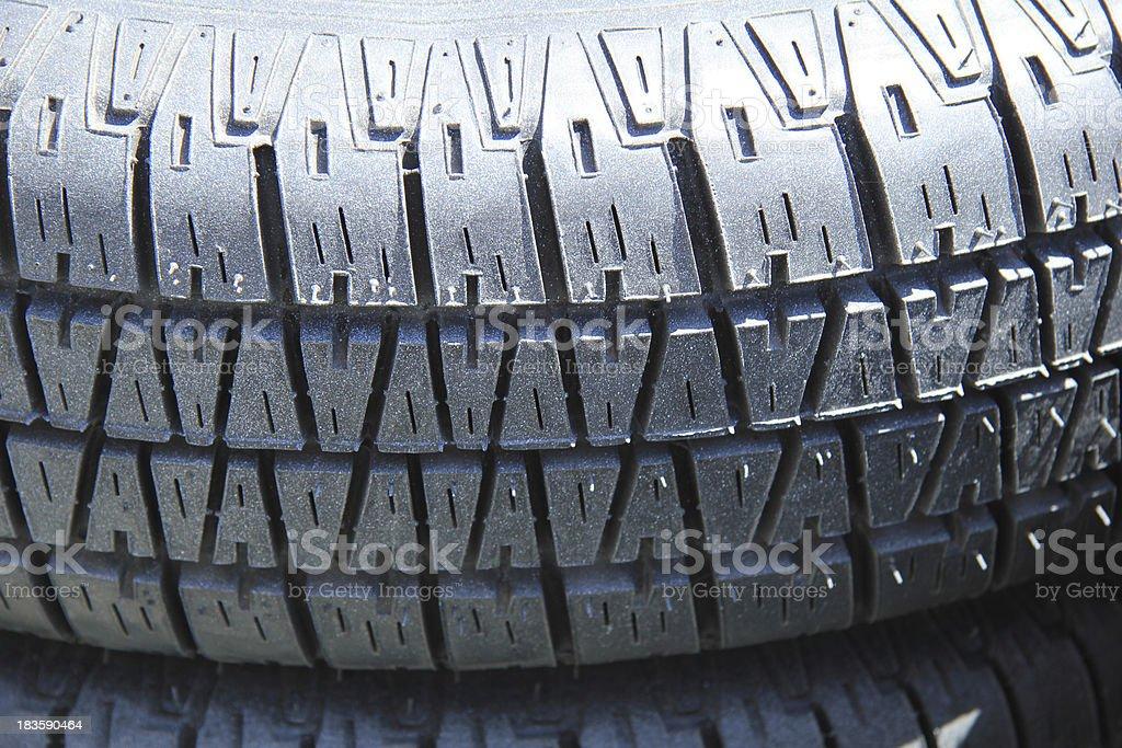 Car tires royalty-free stock photo