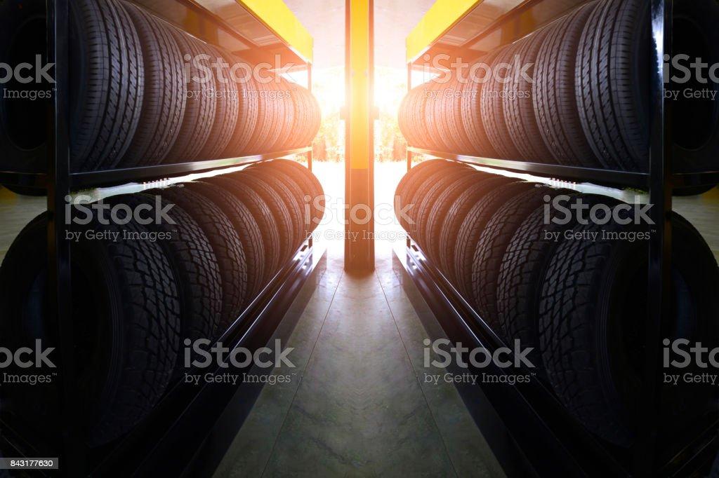 Auto-Reifen-Service. – Foto