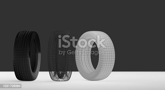 istock car tires technology 3d-illustration 1031709384
