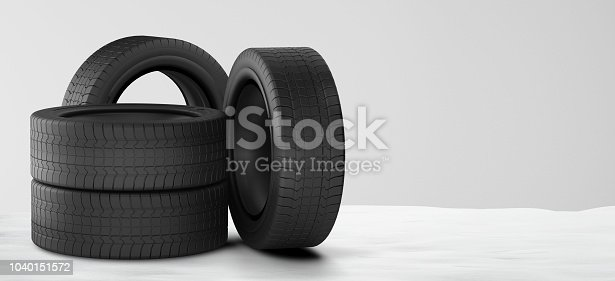 istock car tires winter snow 3d-illustration 1040151572