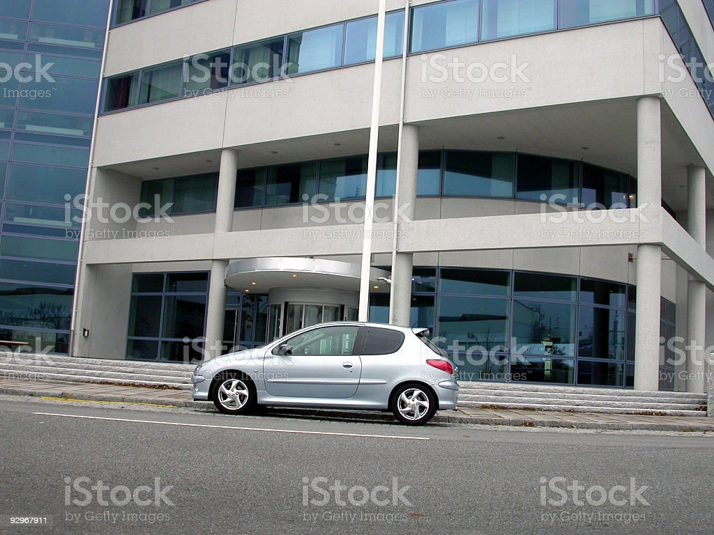 Car to Work royalty-free stock photo