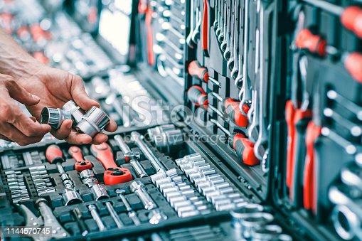 1155772265 istock photo car tools sale handyman auto repair kit hardware 1144570745