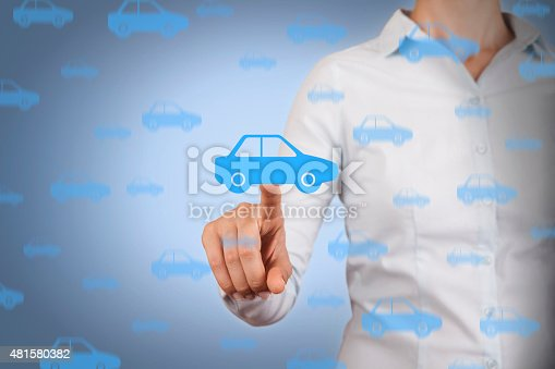 683425144 istock photo Car Touching on Visual Screen 481580382