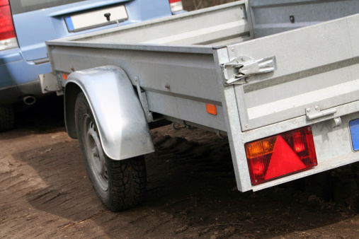 Car trailer for transport