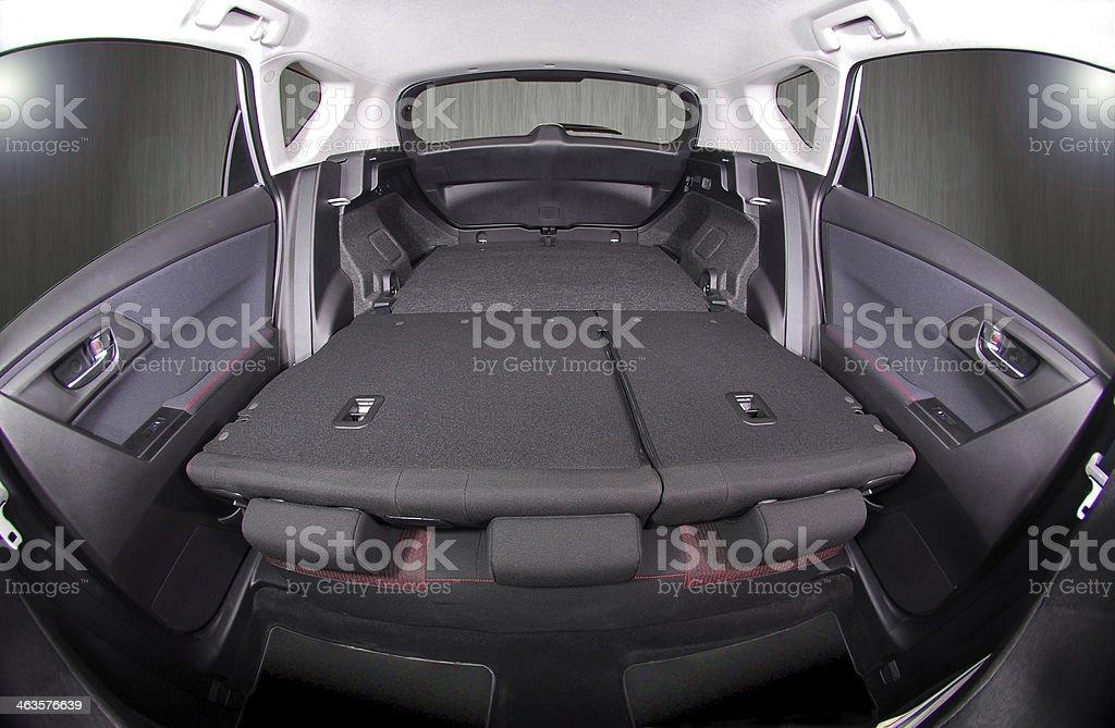 car trunk inside royalty-free stock photo