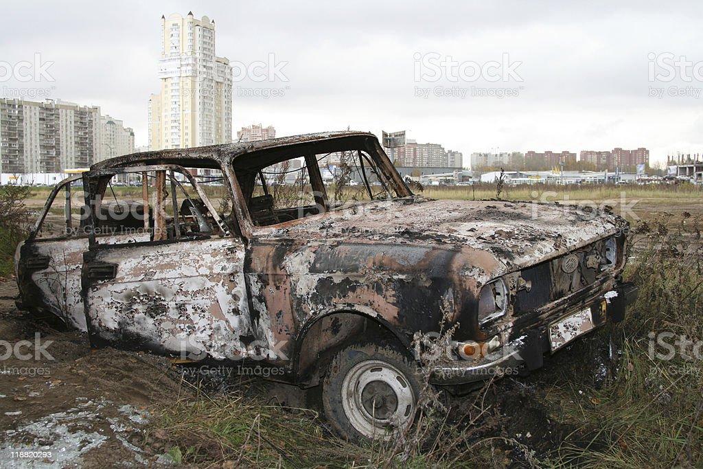 car trunk royalty-free stock photo