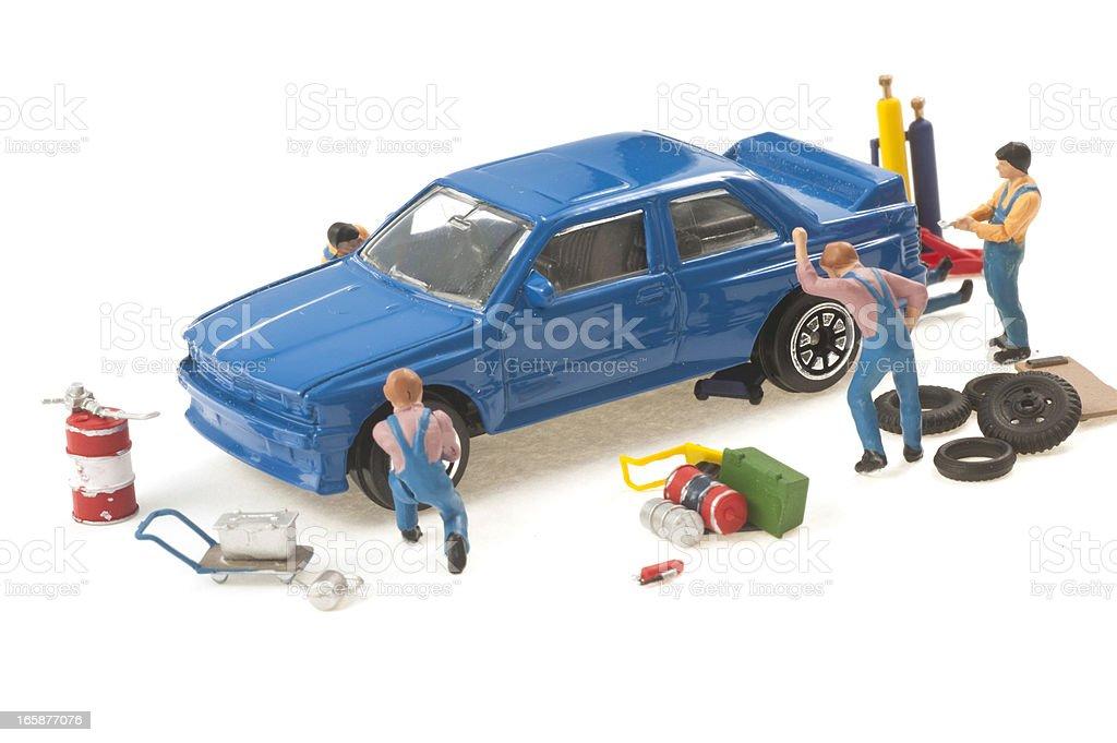 car tuning - abstract macro image stock photo