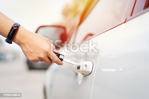 539841066 istock photo car unlocks remote point to open the door 1059046640